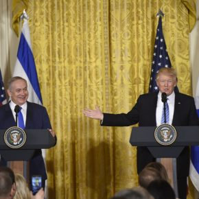 Netanjahu chwali Trumpa jako największego przyjaciela Izraela