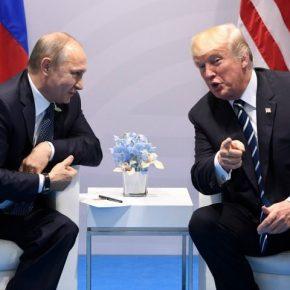 """Trump dostrzega """"ogromny potencjał"""" w relacjach z Rosją"""
