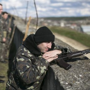 Większość żołnierzy na Ukrainie nie ginie w walkach