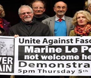 """Marine Le Pen w Oxfordzie. Protesty """"antyfaszystów"""""""