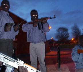 Płn. Irlandia: Dane dotyczące działalności grup paramilitarnych