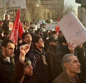Irańczycy protestowali pod brytyjską ambasadą