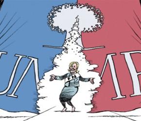 Samozagłada francuskiej centroprawicy