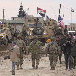 Wymiana ognia między Syryjczykami i amerykańskim patrolem (+WIDEO)