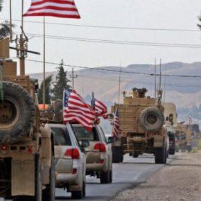 Amerykanie wycofujący się z Syrii obrzuceni kamieniami (+WIDEO)