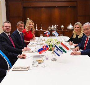 Grupa Wyszehradzka z Izraelem