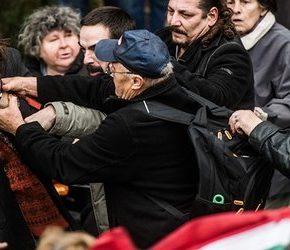 Polityczna walka na węgierskich ulicach