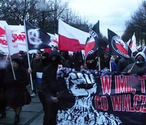 Częstochowa: Policyjne prowokacje na demonstracji w rocznicę wprowadzenia Stanu Wojennego