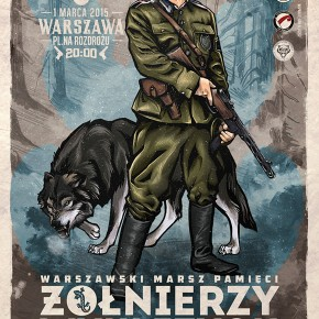 Zaproszenie: Marsz pamięci Żołnierzy Wyklętych w Warszawie (01.03.2015)
