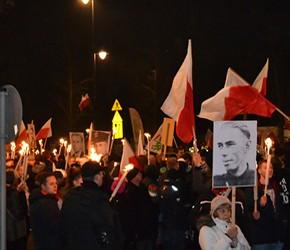 """Warszawa: Warszawski Marsz Pamięci """"Żołnierzy Wyklętych"""""""