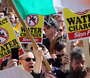 Irlandia: Kolejne protesty przeciwko opłatom za wodę