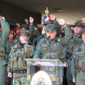 Nieudany przewrót w Wenezueli