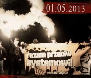 Wideo-zaproszenie na manifestację 1 maja w Warszawie