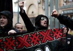 Rosja: Nacjonaliści na ogólnokrajowej demonstracji przeciwko kapitalizmowi