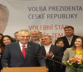 Zeman prezydentem Czech na drugą kadencję