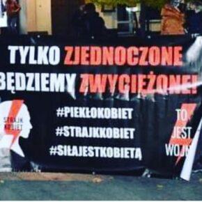 """""""Strajk Kobiet"""" bez postulatu aborcji na życzenie"""