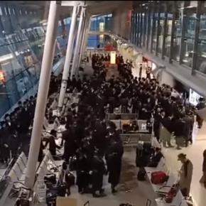 Grupa Żydów łamała obostrzenia na polskim lotnisku