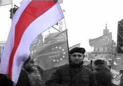 Ukraina: Na Majdanie zginął białoruski nacjonalista